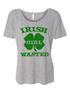 Irish Girl Wasted St Patricks Day Shirt For Women