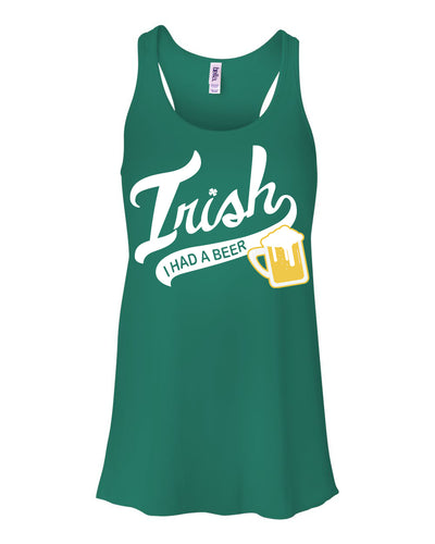 Irish I had a Beer St Patty's Day Tank Top For Women