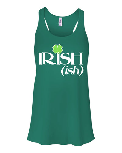 Irish-ish Saint Patricks Day Tank Top Womens