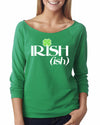 Irish-Ish Womens Long Sleeve Shirt