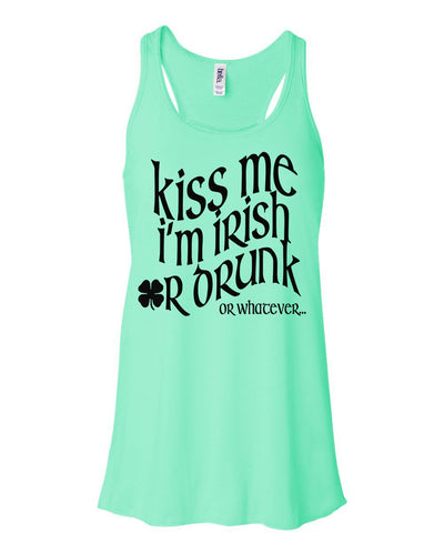 Irish or Drunk Or Whatever St Pattys Day Tank Top For Women