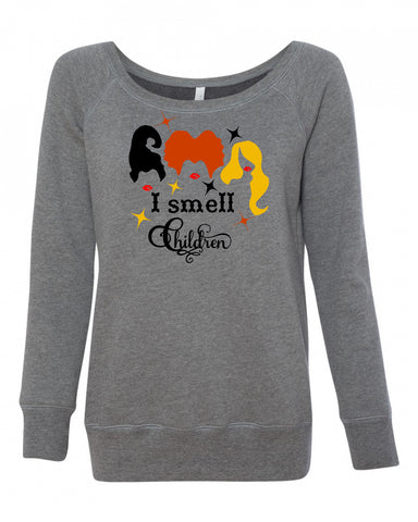I smell Children Hocus Pocus Women's Sweatshirt