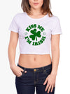 Kiss Me I'm Irish Sexy St Pattys Day shirt