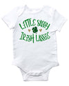 Little Sassy Irish Lassy baby bodysuit for st patricks day