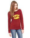 Lukes Diner Womens Wide Neck Sweatshirt