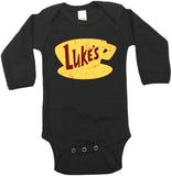 Lukes Diner Gilmore Girls Long Sleeve baby Bodysuit