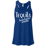 Tequila Because it's Mexico Somewhere Women's flowy Tank Top