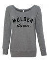 Mulder It's Me X-Files Sweatshirt