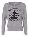 Namaste Witches Womens Long Sleeve Shirt