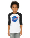 NASA Kids Baseball Shirt