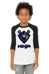 Ninja Kids Baseball Shirt