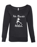 No Basic Witch Wideneck sweatshirt