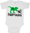 St Patricks day Dinosaur Baby bodysuit for baby boys