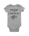 Poop Is Coming Bodysuit