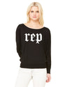 Rep Flowy Long Sleeve Women's T-Shirt
