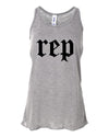 Girl's Youth Rep Flowy Tank Top