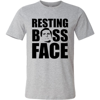 Resting Boss Face Unisex T-Shirt