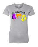 Resting Witch Face Womens Hocus Pocus shirt