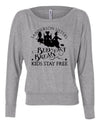 Sanderson Sisters Bed and Breakfast long sleeve slouchy shirt