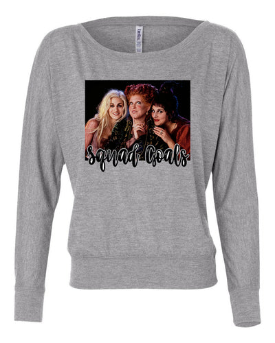 Hocus Pocus Witches Womens Long Sleeve Shirt