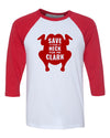 Save The Neck For Me Clark Baseball Shirt