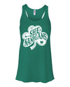 She- Nanigans St Patricks Day Tank top  For Women