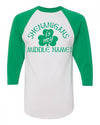 Shenanigans is My Middle Name St Patricks day Shirt for Toddlers