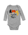 I smell Children Hocus Pocus Halloween Long Sleeve Baby Bodysuit
