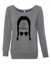 Still Not Perky Women's Wideneck Sweatshirt