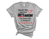 Trust Me I Watch Grey's Anatomy Unisex T-Shirt