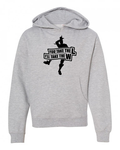 Take the L Fortnight Boys Hoodie