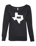 Made in Texas Sweatshirt Dallas Fort Worth Austen El Paso Houston Texas shirt