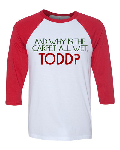 Todd Margo Christmas Vacation Shirt for Kids Toddlers