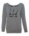 Tonight We Fly Women's Wideneck Sweatshirt