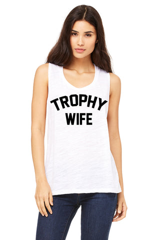 Trophy Wife Women's Muscle Tank Top
