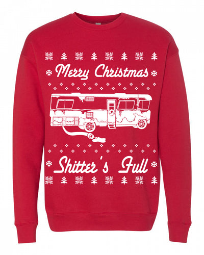 Merry Christmas Shitters Full Unisex Sweatshirt