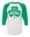 Wee Little Hooligan St Patricks Day Toddler Baseball Shirt