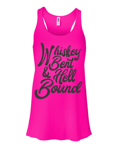 Whiskey Bent and Hell Bound Women's Tank Top