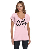 Wifey Wedding Day Honeymoon Flowy T-shirt