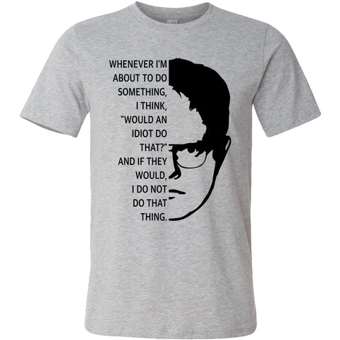 Dwight Schrute T-shirt//The Office TV show shirt