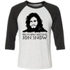 You know Nothing Jon Snow Baseball Shirt
