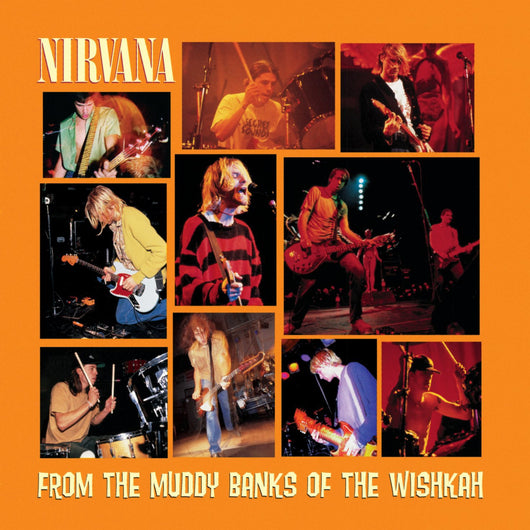 <b>NIRVANA <br>From the Muddy Banks of the Wishkah 2LP</b>