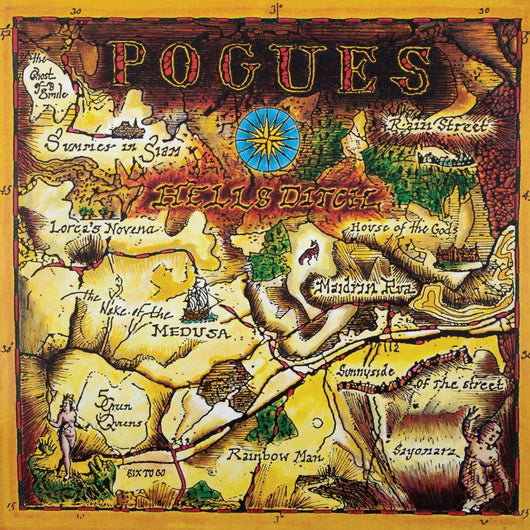 <b>THE POGUES <br>Hell's Ditch LP</b>