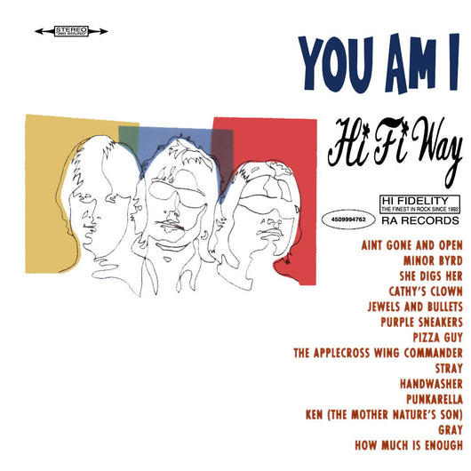<b>YOU AM I <br>Hi Fi Way LP</b>