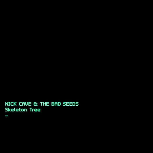 <b>NICK CAVE & THE BAD SEEDS <br>Skeleton Tree LP</b>