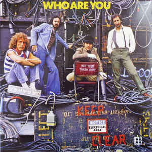 <b>THE WHO <br>Who Are You LP</b>