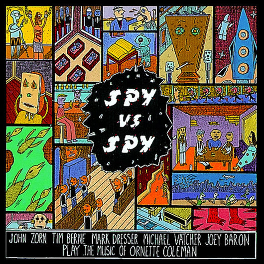 <b>JOHN ZORN <br>Spy Vs. Spy: The Music of Ornette Coleman LP</b>