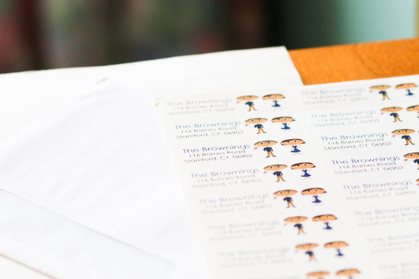 Family Return Address Labels