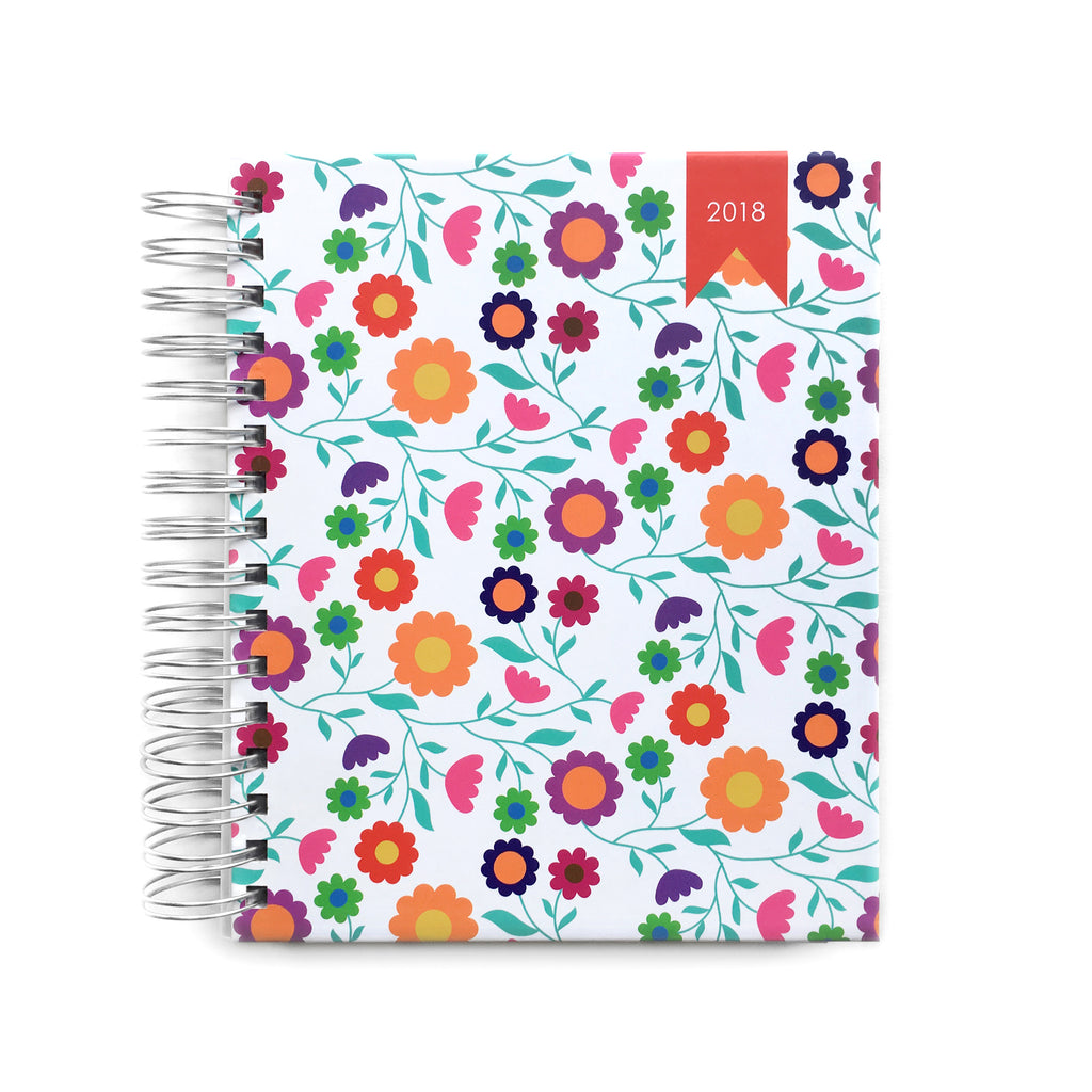2018 Create-a-Life Planner~dancing  daisies