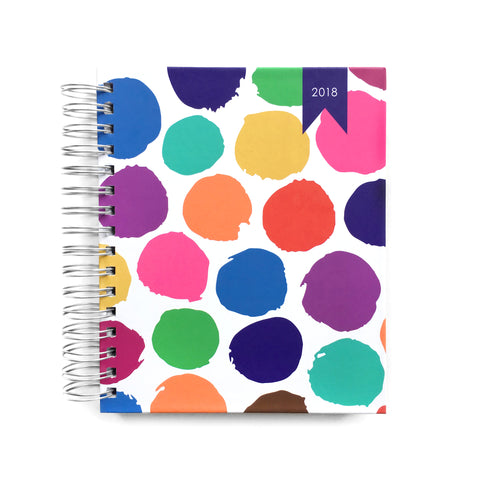 2018 Create-a-Life Planner~happy  dots